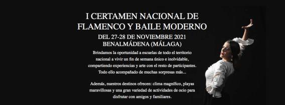 I CERTAMEN NACIONAL DE FLAMENCO Y BAILE MODERNO