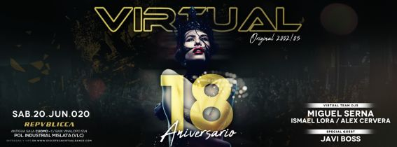 VIRTUAL - 18 Aniversario