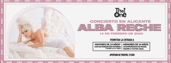 Concierto Alba Reche Alicante