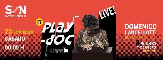 PLAY-DOC FESTIVAL: DOMENICO LANCELLOTTI + BLURRY THE EXPLORER