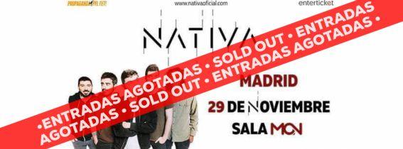 Concierto presentación Nativa Madrid
