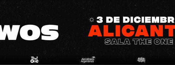 Concierto WOS Alicante