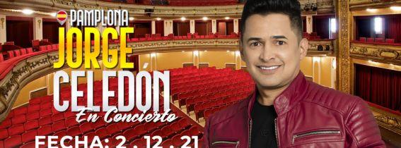 Jorge Celedón de concierto en Pamplona