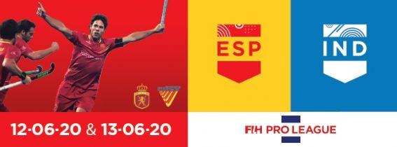 FIH Hockey Pro League 2020 España - India