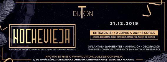 Nochevieja Dutton Club 2019