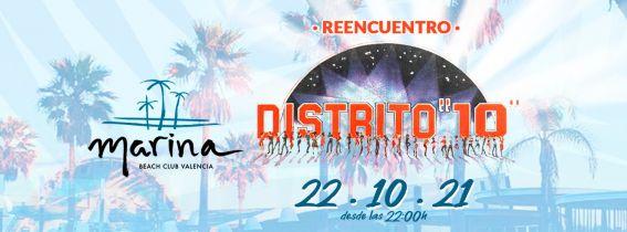 Marina Beach Club DISTRITO 10