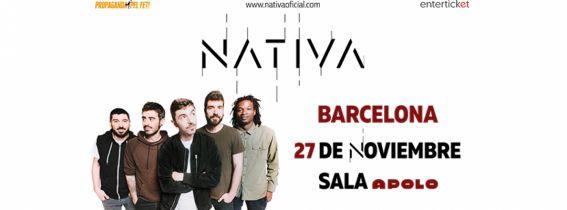 Concierto presentación Nativa Barcelona