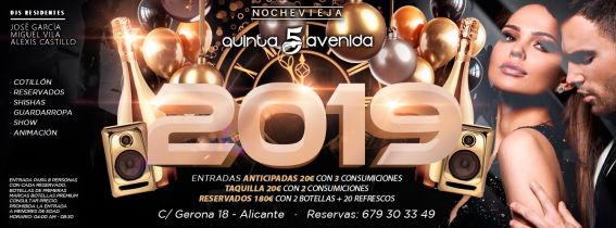NOCHEVIEJA 2019 By Quinta Avenida
