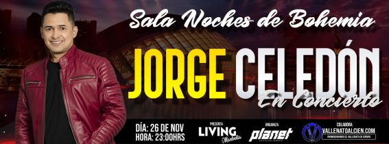 Concierto de Jorge Celedón en Valencia