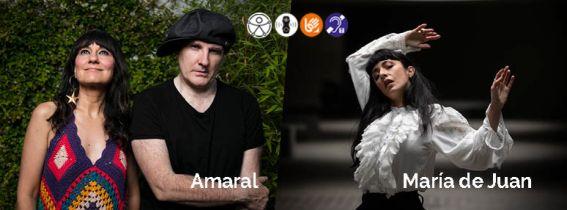 CONCIERTO AMARAL + MARÍA DE JUAN - ALMERÍA