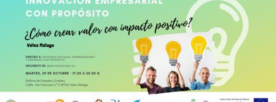 Innovación Empresarial con Propósito, en Vélez Málaga