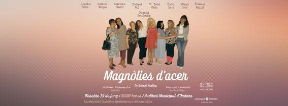 """TEATRE """"MAGNÒLIES D'ACER"""""""