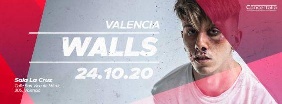 Concierto Walls Valencia 2020