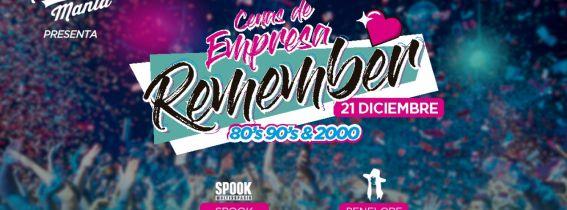 Remember Mania - Gala de Navidad Spook Valencia