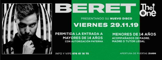 Concierto Beret Alicante 2019