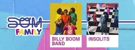 BILLY BOOM BAND + INSOLITS EN SOM FAMILY Festival Castelló