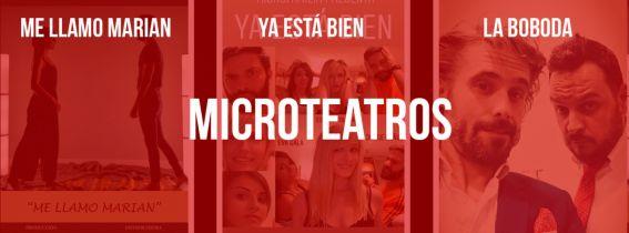 Sesión de MicroTeatros