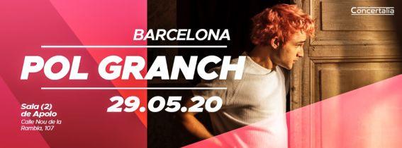 Concierto Pol Granch Barcelona