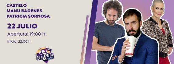 Castelo + Patricia Sornosa + Manu Badenes - A la fresca