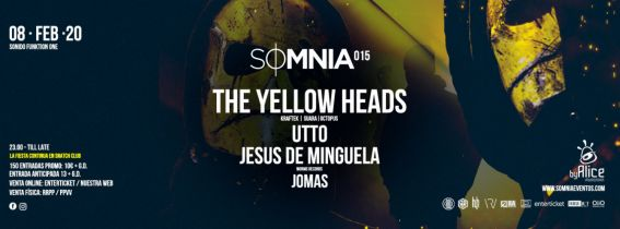 SOMNIA CLUB 15 CON THE THE YELLOWHEADS