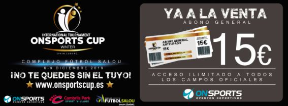 Torneo Internacional On Sports Winter Cup-Salou 2020