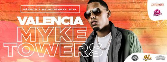 Concierto Myke Towers Valencia 2019