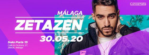 Concierto Zetazen Malaga 2020