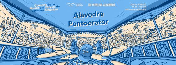Concerts de La Marina a la Pèrgola de Cervezas Alhambra: ALAVEDRA + PANTOCRATOR