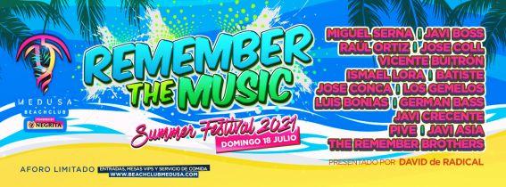 Medusa Beach Club - REMEMBER THE MUSIC Summer Festival 2.0