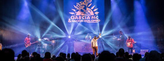 García MC & Nación Quilombo en Mos