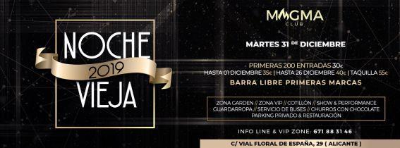 Nochevieja Magma Club 2019