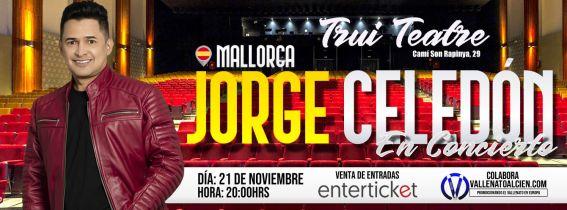 Concierto de Jorge Celedón en Mallorca