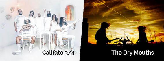 CONCIERTO CALIFATO 3/4 + THE DRY MOUTH - ALMERÍA