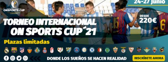 Torneo On Sports Summer Cup-Benalmádena 2021