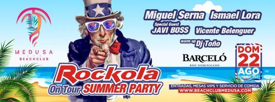 Medusa Beach Club - ROCKOLA On Tour
