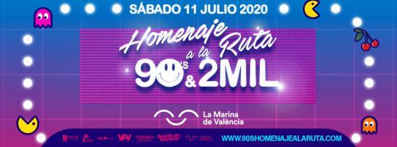 Homenaje a la Ruta 90's & 2MIL Valencia 2020