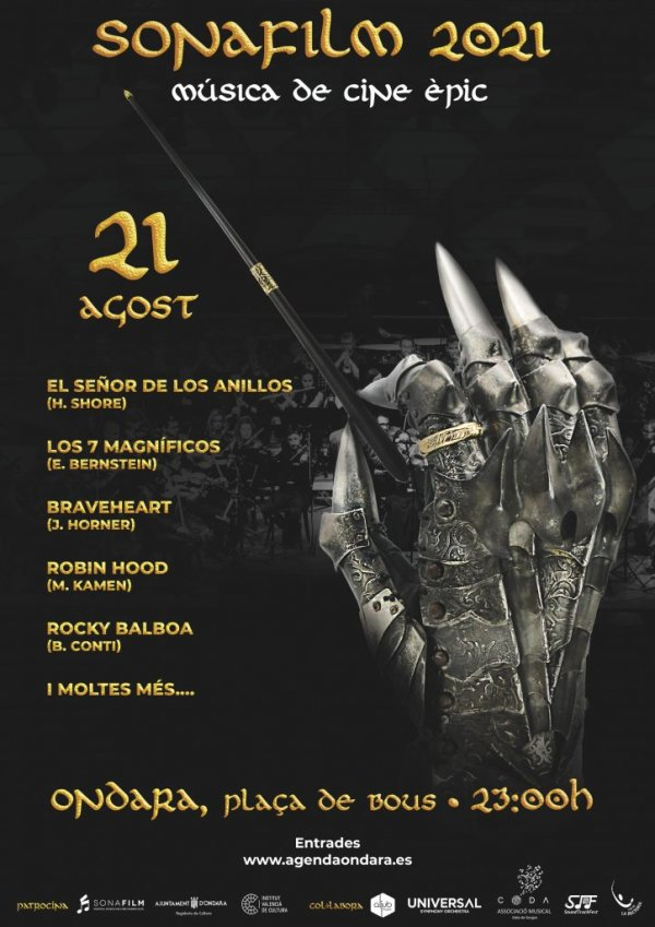 SONAFILM 2021. MÚSICA DE CINE ÈPIC